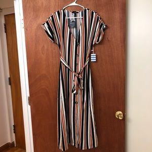 Forever 21 Striped Maxi Dress Port Bleu Collection